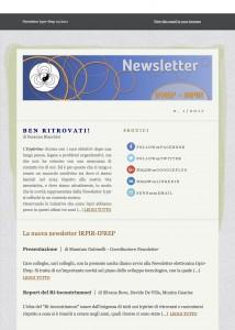 Benvenuto nella Newsletter IRPIR-IFREP